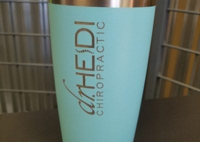 Engraved Thermal cup logo