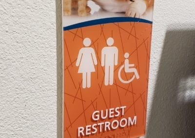 Full color ADA Braille Sign 2