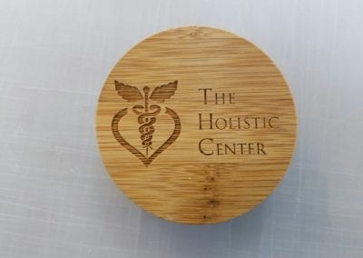 Wood lid Engraved
